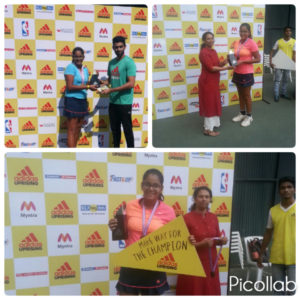 Adidas Interschool competition