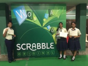 Interschool scrabble
