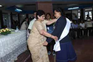 Investiture ceremony School Captain